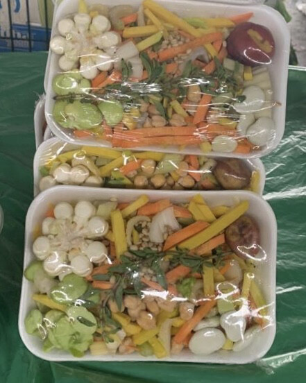 Mix de verduras picada