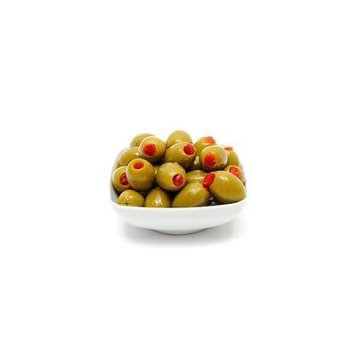 Aceituna verde con rocoto x 250 gr