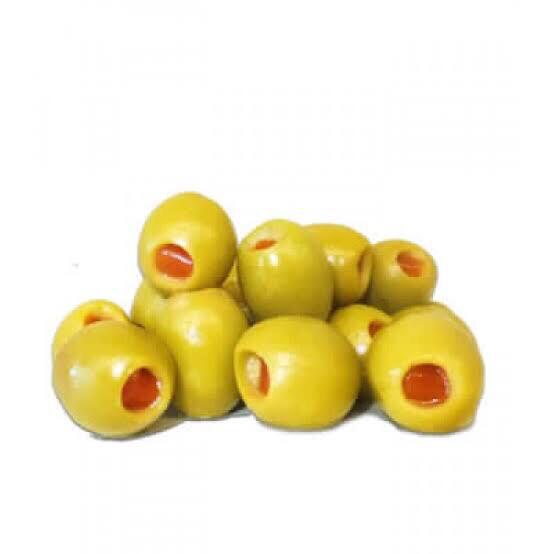 Aceituna verde con pimientos x 250 gr