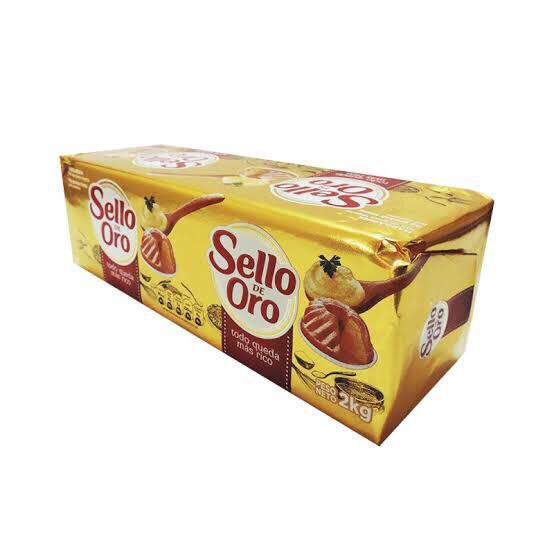 Margarina Sello de  oro x 2  kg