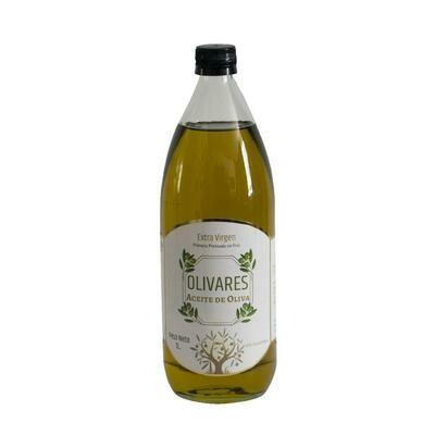 Aceite de oliva extra virgen primera prensada x 1L.