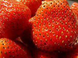 Fresas  deshojadas x kg