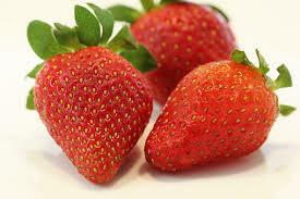 Fresas grandes x kg DECORACION