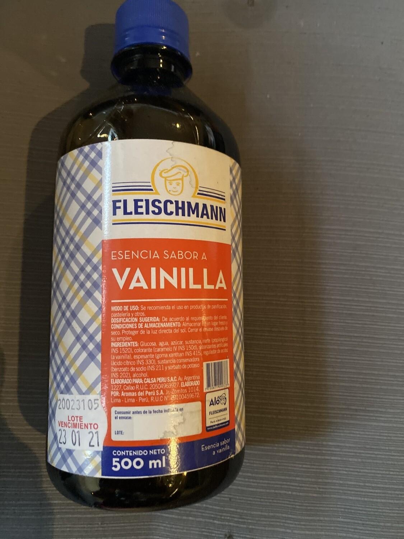 Esencia de vainilla Fleischmann x 500 Ml