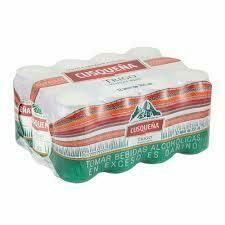 Cerveza Cusqueña trigo x 12 pack de 355ml.