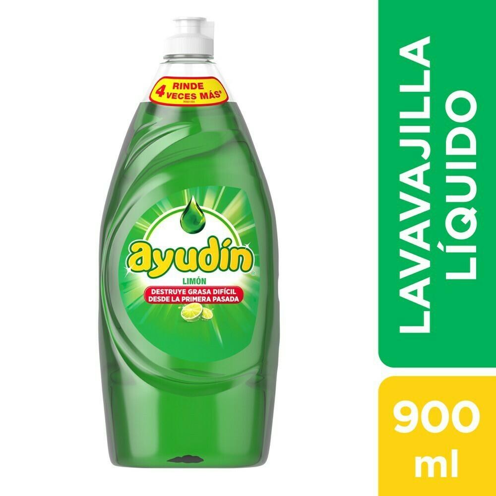 Lavavajilla líquido Ayudín · x 910 ml.