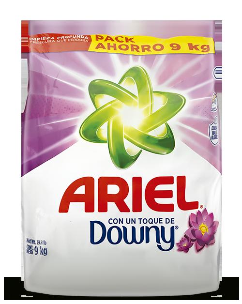 Ariel · Detergente Regular x 9 Kg.
