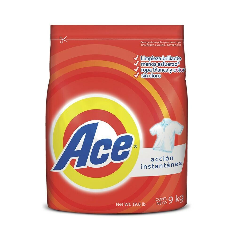Ace · Detergente Ace 9 kilos
