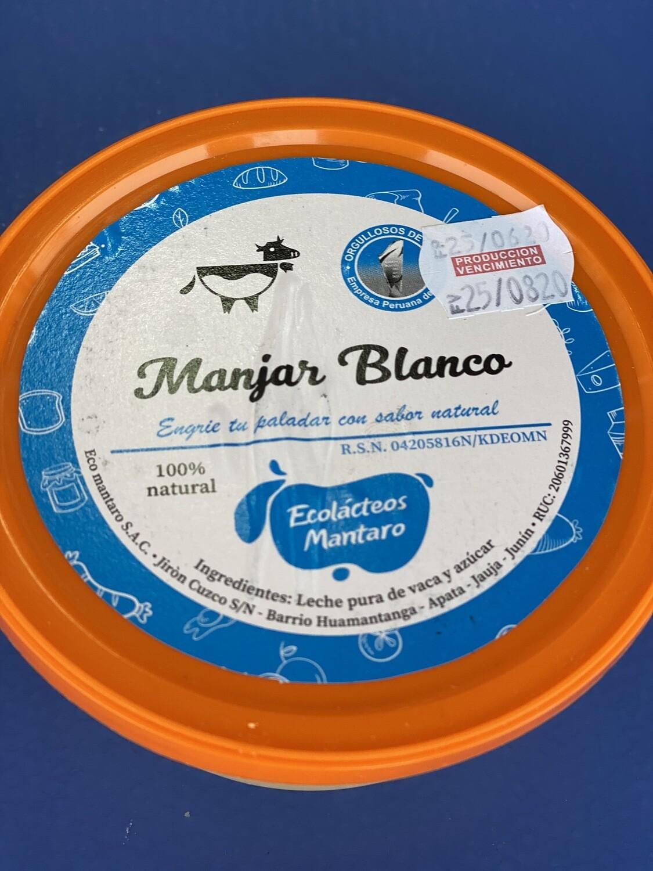 Manjar blanco eco Mantaro x 250