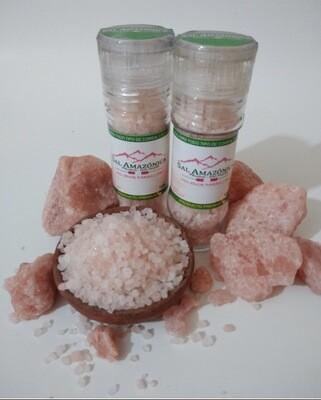 Sal volcánica  natural rosada