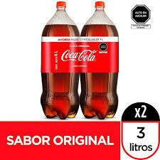 Gaseo coca cola duopack 2 X 3LT