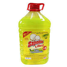 LAVAVAJILLA LIQUIDO SAPOLIO LIMON X 5 LT