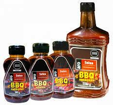 SALSA BBQ AMERICANA ARO X 390 GR