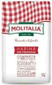 HARINA S/PREP MOLITALIA X  1KG