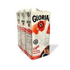 LECHE LIGHT UHT GLORIA 3X1LT