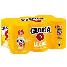LECHE EVAPORADA GLORIA NIÑO DEF 6 X 400 G