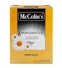 MANZANILLA MC COLINS CAJA X 100 SOBRES