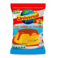 FLAN UNIVERSAL VAINILLA X 100GR