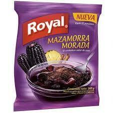 MAZAMORRA MORADA ROYAL X 140 GR