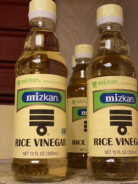 Vinagre natural de arroz mizkan 355