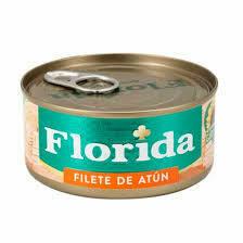 FILETE ATUN FLORIDA ACV 6 X 170GR