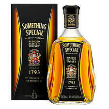 WHISKY SOMETHING SPECIAL X 750 ML