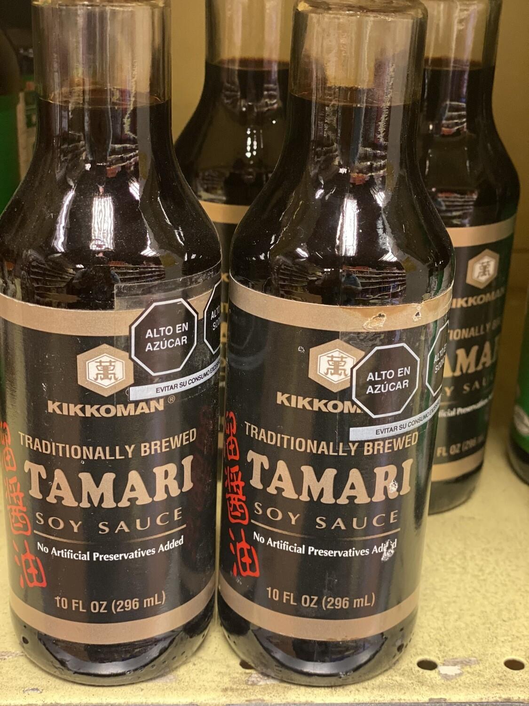 Kikkoman salsa de soya tamari 296 ml