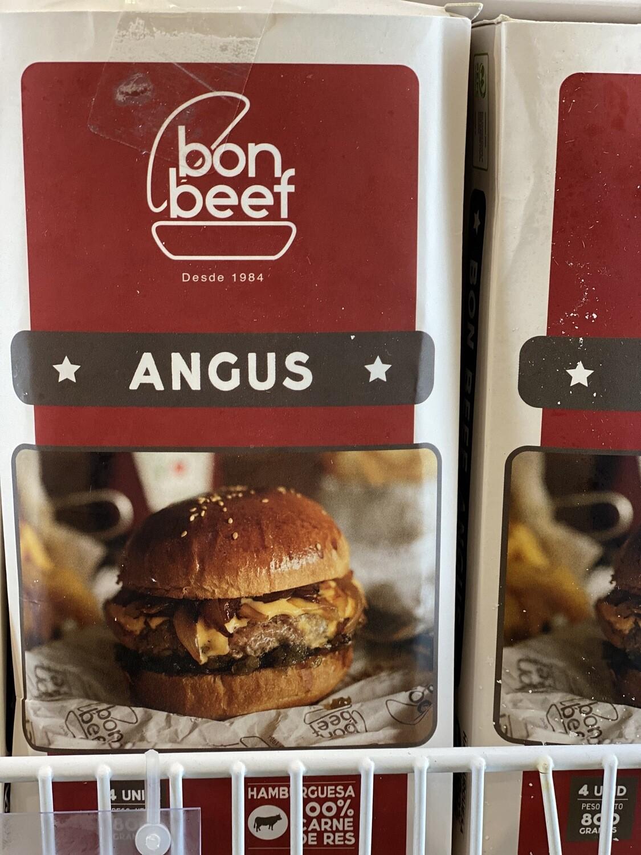 Hamburguesa bon beef Angus x 4 unidades
