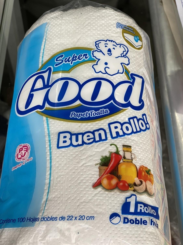 Papel toalla x plancha 12 unidades