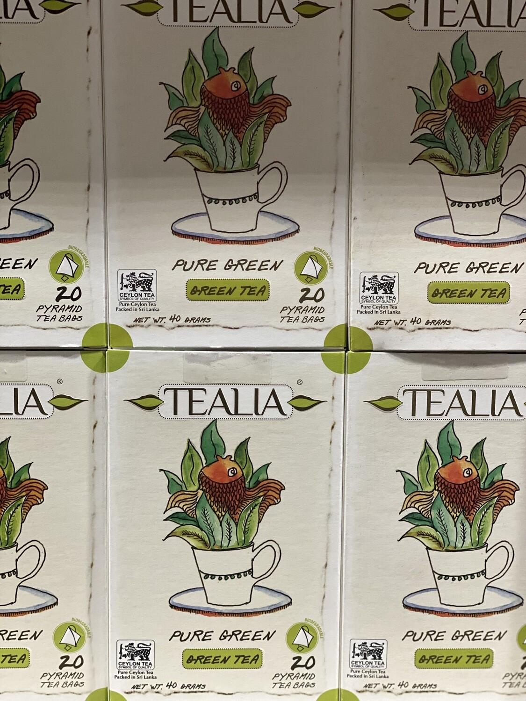 Tealia green tea