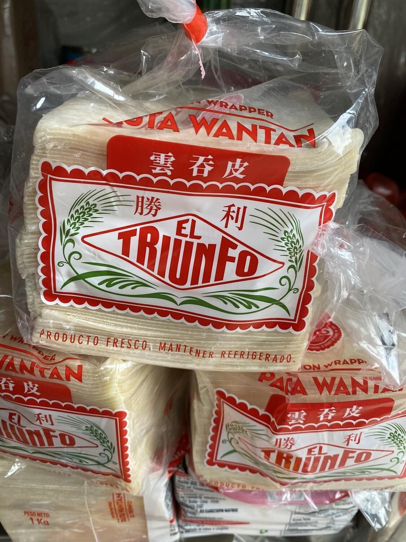 Pasta Wantan triunfo x kilo