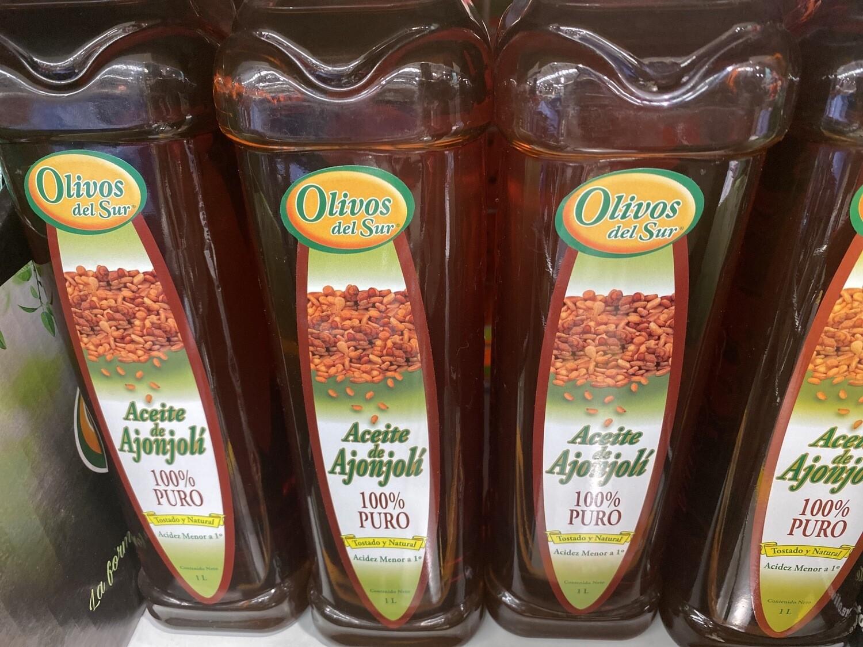 Aceite de ajonjoli puro El Olivar x 1 litro