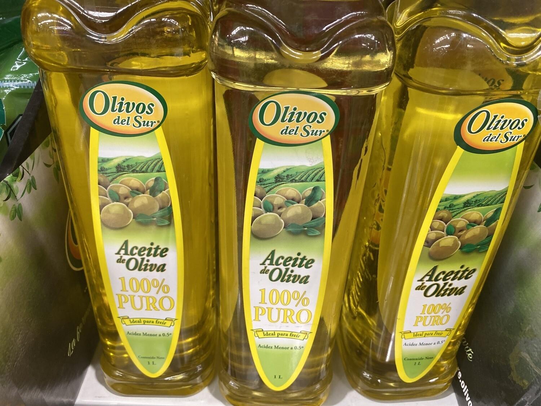 Aceite de oliva puro ideal para freír x 1 litro