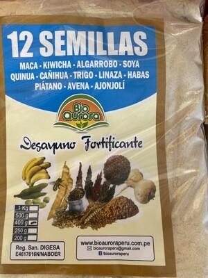 12 semillas x 400 gramos