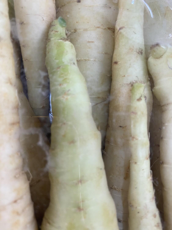 Zanahoria blanca x bandeja orgánica