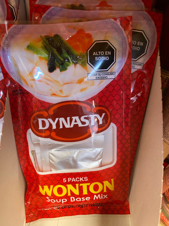 Dynasty sopa wantan en polvo
