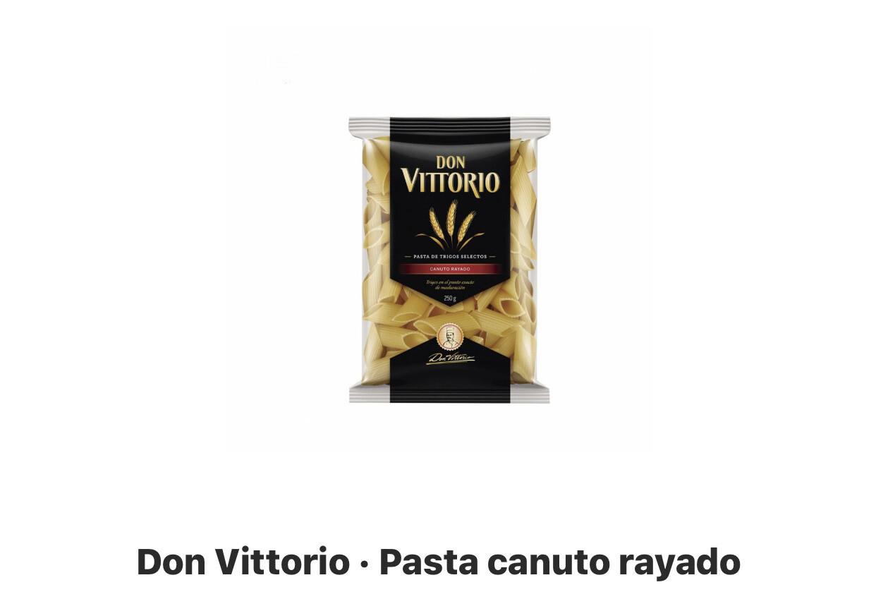 Fideos canuto don Victorio