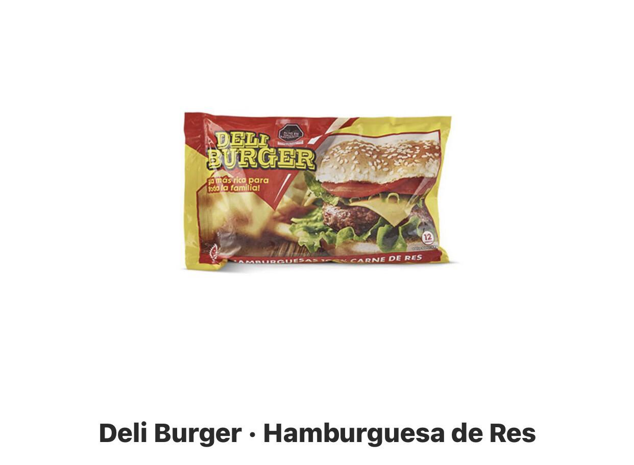 Hamburguesa Deli burger x 12 unidades