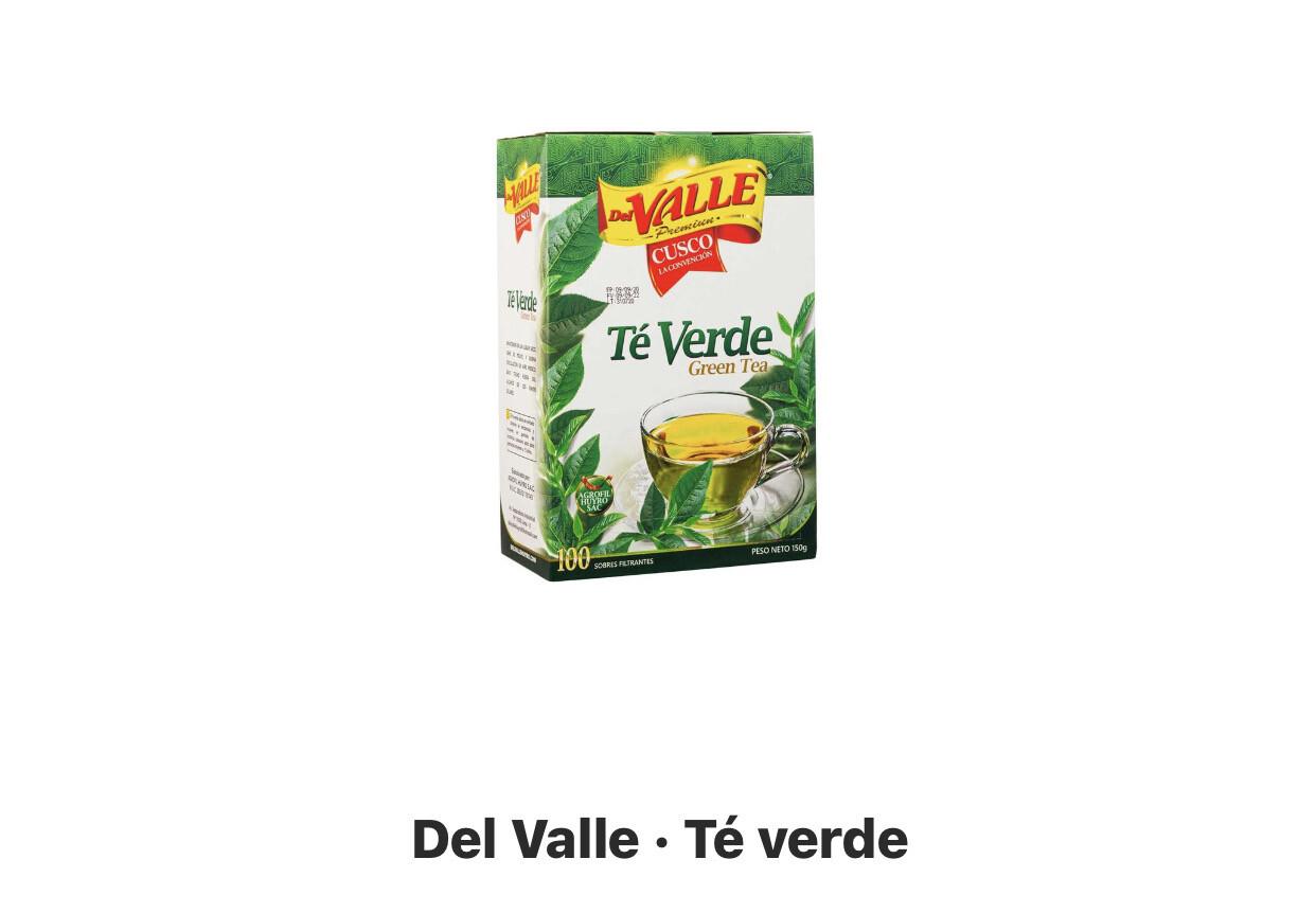 Te verde  Del Valle x 100 unidades