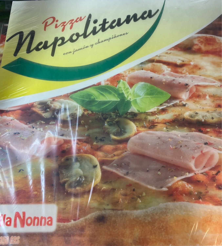 Pizza  de la Nonna  Napolitana x unidad
