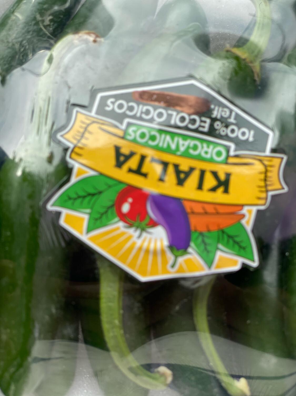 Jalapeños seleccionados orgánicos  bandeja