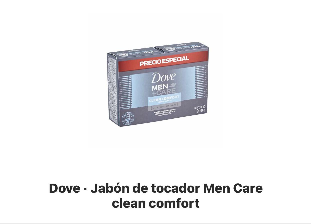 Dove jabón hombre pack 3 unidades