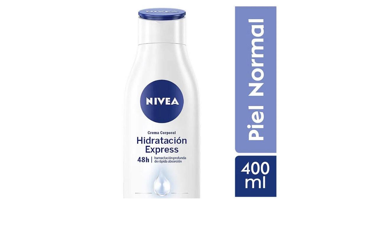 Nívea hidratante corporal x 400 piel normal