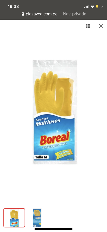 Guantes para lavar boreal talla m