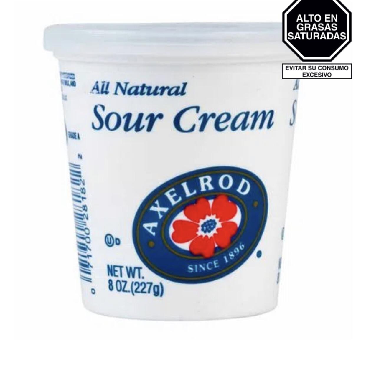 Queso crema agrio x 227 gr