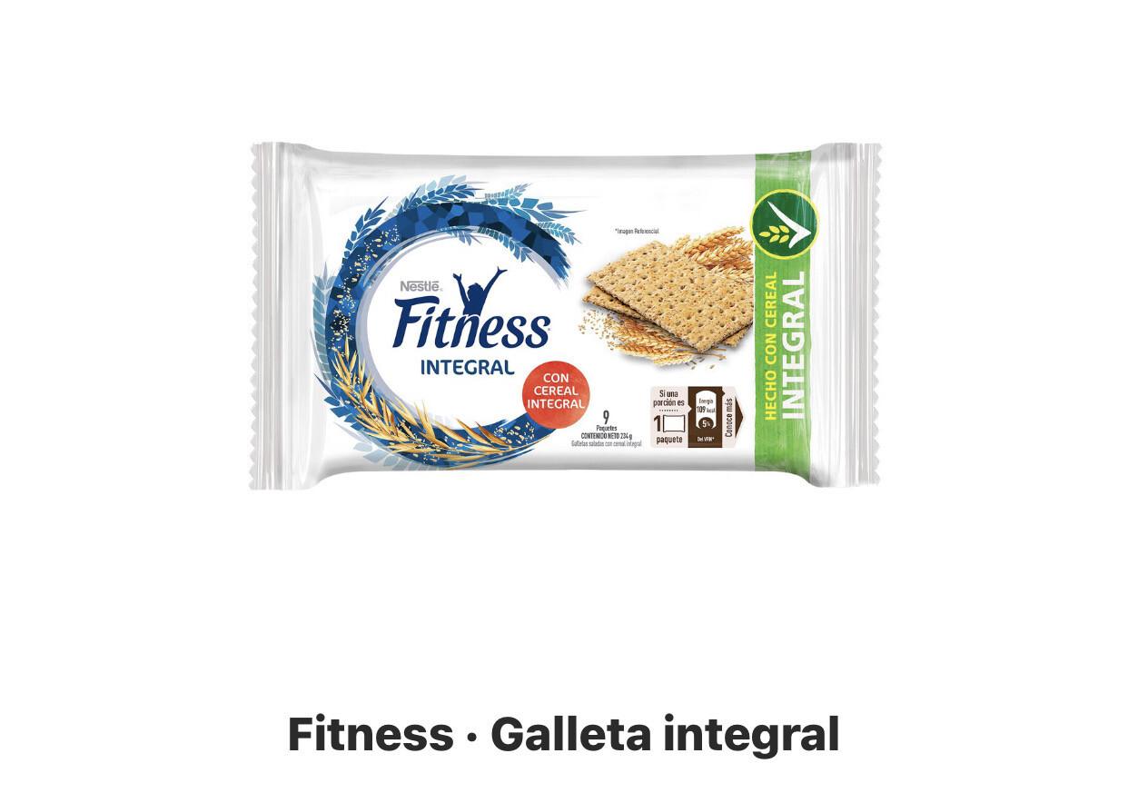 Galletas integrales fitnest