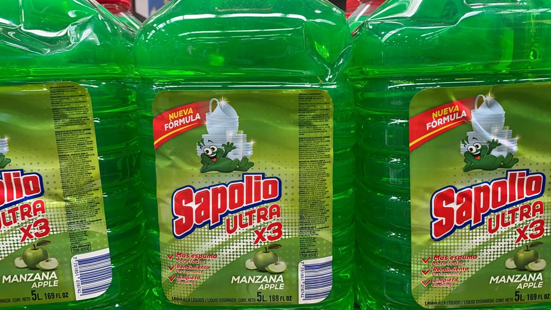 Lavavajillas liquida Sapolio ultra x 5 litros