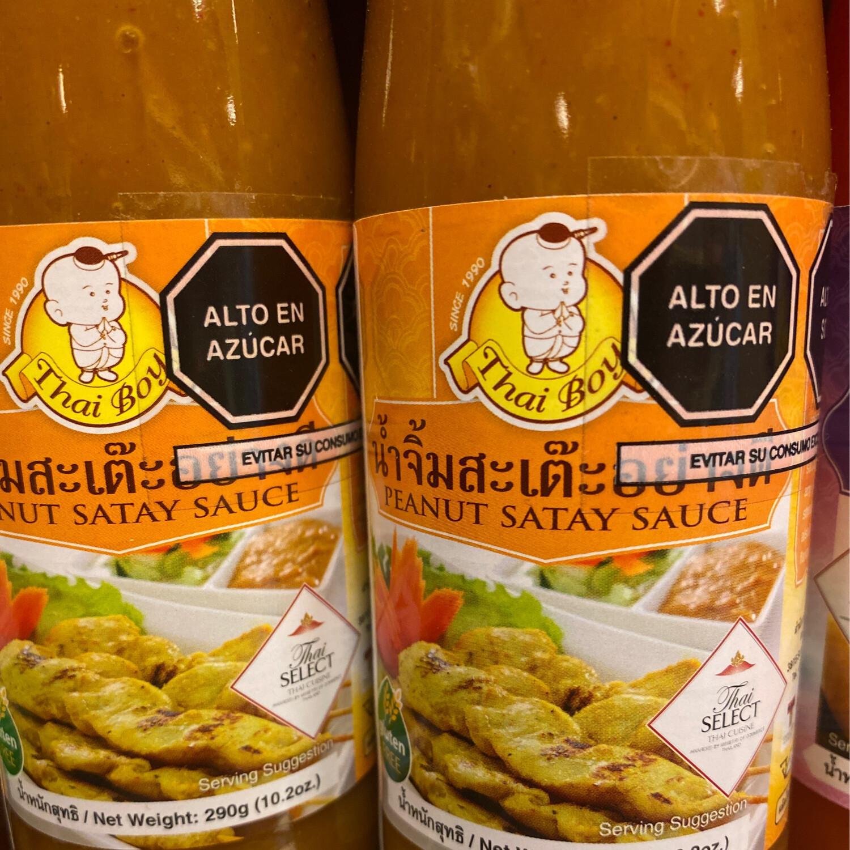 Thai boy salsa de maní x 300 gramos