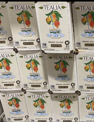 Tealia x 20 unidades sabor mango
