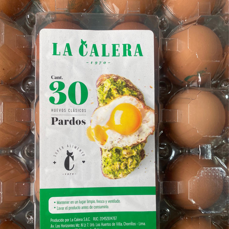 Huevos la calera x kilo ( plastificados )
